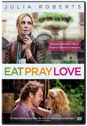 EAT PRAY LOVE BY ROBERTS,JULIA (DVD)